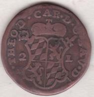 Belgique. Évéché De Liège. 2 Liards 1751. Jean-Théodore De Bavière - Belgique