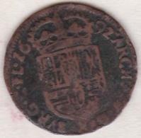 Pays-Bas Espagnole. Comté De Flandre. 1 Liard 1692. CHARLES II - Belgique