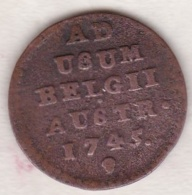 Pays-Bas Autrichiens.  1 LIARD 1745 . MARIA THERESA - Belgique