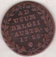 Pays-Bas Autrichiens.  2 Liards  1788 . Joseph II - Belgique