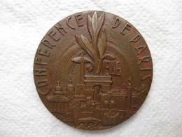 Médaille En Bronze Conférence De Paris 1946. PAX (PAIX) Par GALTIE - France