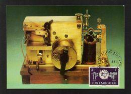 Luxemburg 1965  Mi.Nr. 714 , Musee Des Postes Et Telecommunications - Maximum Card - Luxembourg 4-12-1981 - Maximum Cards