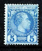 Monaco 1885 Charles III 5C Mi.3 MH AM.475 - Monaco