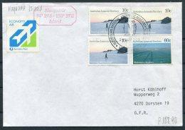 1990 Australia Antarctica A.A.T. Antarctic Macquarie Island Penguin, Polar A.EN.A.R.E. Expedition Cover - Covers & Documents