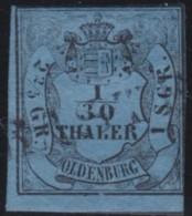 Oldenburg    .    Michel    .     2      .       O           .       Gebraucht     .   /   .    Cancelled2elzas - Oldenburg