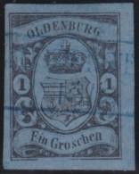 Oldenburg    .    Michel    .     6      .       O           .       Gebraucht     .   /   .    Cancelled2elzas - Oldenburg