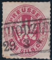 Preussen      .    Michel    .     16        .       O    .       Gebraucht     .   /   .    Cancelled2elzas - Preussen