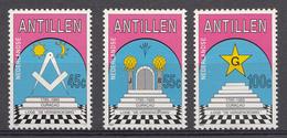 Antilles Neérlandaise 1985 Nvph Nr.: 802-904 Loge De Vergenoeging  Neuf Sans Charniere / MNH / Postfris - Curaçao, Antilles Neérlandaises, Aruba