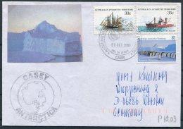 2003 Australia Antarctic A.A.T. AAT Polar A.N.A.R.E. CASEY Expedition Penguin Ship Cover - Covers & Documents