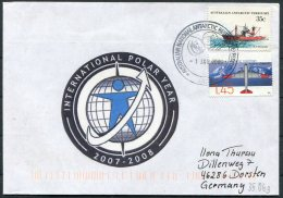 Australia Antarctic A.A.T. AAT Polar A.N.A.R.E. CASEY Expedition Seal Ship Cover - Covers & Documents