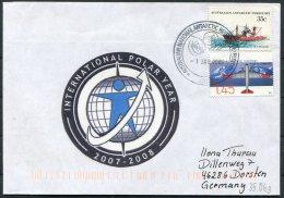 Australia Antarctic A.A.T. AAT Polar A.N.A.R.E. CASEY Expedition Seal Ship Cover - Australian Antarctic Territory (AAT)