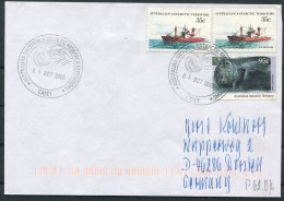 2005 Australia Antarctic A.A.T. AAT Polar A.N.A.R.E. CASEY Expedition Seal Ship Cover - Australian Antarctic Territory (AAT)