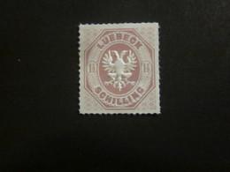Lübeck Nr. 14 Postfrisch / NACHDRUCK / Luebeck - Luebeck