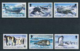 """WWF - BAT - Mi.Nr. 193 / 198 - """"Robben Und Pinguine"""" ** / MNH (Jahr 1992) - W.W.F."""