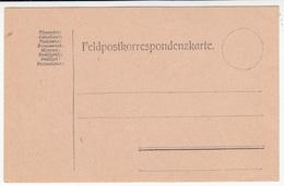 Austria, WW1 Postal Card Feldpostpostkarte Unused B180205 - Interi Postali