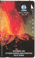 INDONESIA - Volcano, Letusan Gunung Anak Krakatau, 12/94, Used - Vulcani