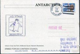 1998-2002 11 X Postcards USAF McMurdo Sound Antarctica APO AP 96599 Penguins - Research Stations