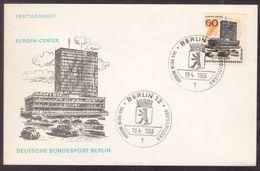 C78  Berlin 1966  FDC - Europa-Center - FDC: Enveloppes