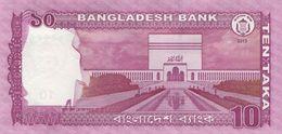 Bangladesh P.54b 10 Taka 2013 Unc - Bangladesh