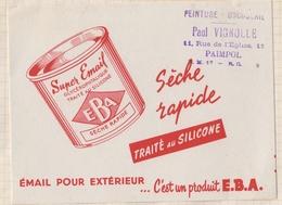 8/3  BUVARD SUPER EMAIL EBA PAUL VIGNOLLE PAIMPOL - Paints