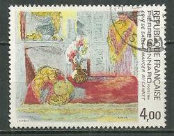 FRANCE Oblitéré 2301 Coin De Salle à Manger Au Cannet Pierre Bonnard Tableau Art - Frankreich