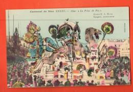GBD-05 Carnaval De Nice XXXXI Char La Prise De Fez. Litho . G. Mossa Editeur Giletta Non Circulé - Carnaval