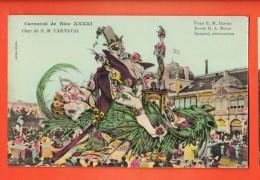 GBD-06 Carnaval De Nice XXXXI Char De Sa Majesté CARNAVAL. Litho . G. Mossa Editeur Giletta Non Circulé - Carnaval