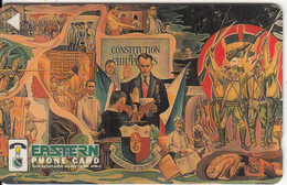 PHILIPPINES(GPT) - Wall Painting 4, Eastern Telecom Telecard, CN : 241PETD, Tirage 5000, Used - Philippines