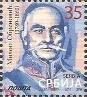 SRB 2015-619 MIHAIL OBRENOVICH, SERBIA, 1 X 1v, MNH - Serbien