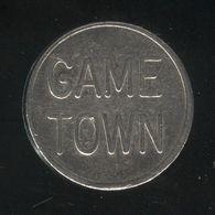 Jeton Game Town - 2 Faces Identiques - USA