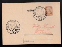 DR Postkarte Sonderstempel Kreistag NSDAP 1939 Korneuburg K1098 - Poststempel - Freistempel