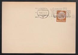 DR Postkarte Sonderstempel 1939 Wien K1144 - Poststempel - Freistempel