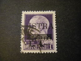 OCCUPAZ. IUGOSLAVA - ISTRIA, 1945, Sass. N. 37, L. 10  Su L.2 Su L. 1, Usato, TTB - Jugoslawische Bes.: Istrien