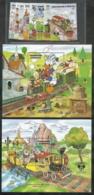 Dominica, Scott 2017 # 1054-1063,  Issued 1987,  Set Of 8 + 2 S/S,  MNH,  Cat $ 23.60,  Disney - Dominica (1978-...)