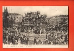 GBD-14 Carnaval De Nice  Au Revoir. Non Circulé - Carnaval