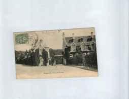 France > Marcophilie Sur CPA Abbaye Vaux De Cernay N° 111 Cachet Perlé 19 Avril 1906 +OL ( - Marcophilie (Lettres)