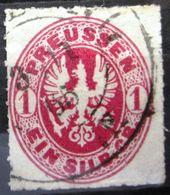 PRUSSE                 N° 17                    OBLITERE - Mecklenburg-Strelitz