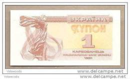 Ucraina - Banconota FDS Da 1 Karbovanets P-81a - 1991 - Ucraina