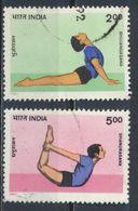 °°° INDIA - Y&T N°1136/37 - 1991 °°° - Usados