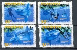 Ncw322s WWF VISSEN ZONNEVIS DUIKER DIVER CAMERA SUNFISH FISCHE MARINE LIFE PENRHYN 2003 PF/MNH - W.W.F.