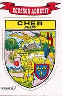 Ecusson Adhésif CHER  Berry  - Kroma - - Non Classés