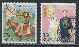 °°° BURKINA FASO - Y&T N°643/44 - 1985 °°° - Burkina Faso (1984-...)