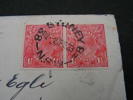 Australia Cv.  1929 - 1913-36 George V: Köpfe