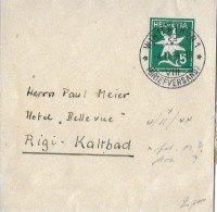 85 - 85 - Entier Postal Bande De Journal Cachet à Date De Winterthur 1 944 - Postwaardestukken