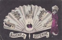 Oostende, Souvenir D'Ostende  (pk43310) - Oostende