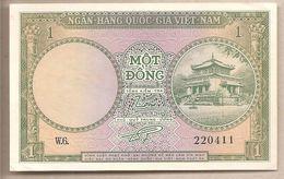 Vietnam Del Sud - Banconota Non Circolata Da 1 Dong P-1a - 1956 - Vietnam
