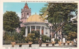 Panama City Santa Ana Church And Park - Panama