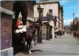 LONDON  Mounted Sentries At The Horse Guards - Cavalli