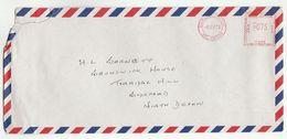 1973 MALAYSIA COVER METER U306 Stamps Peat Marwick Mitchell Co  Kuala Lumpur  To GB , Malaya - Malaysia (1964-...)