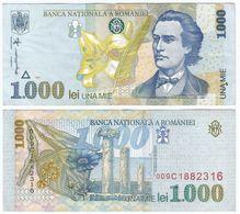 Rumanía - Romania 1.000 Lei 1998 Pick 106.2 Ref 1485 - Romania
